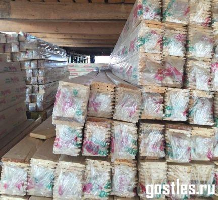 Евровагонка сорт А упаковке
